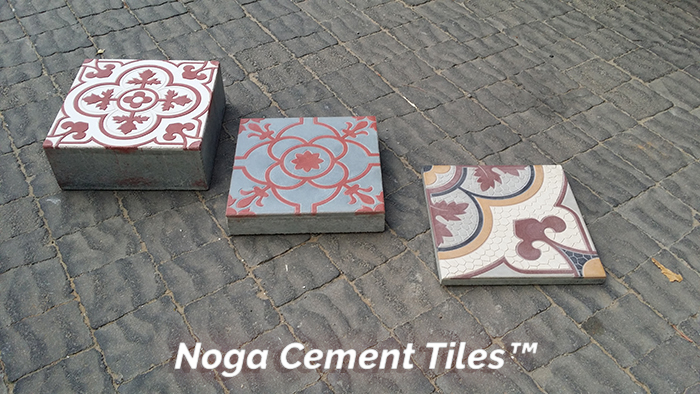 Blast From The Past Hand Made Cement Tiles By Noga